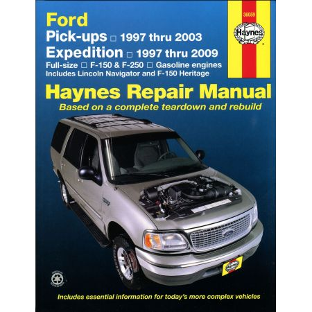 Expedition 97-04 Navigator 97-14 Revue technique Haynes FORD LINCOLN Anglais
