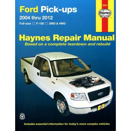 F-150 04-14 Revue technique Haynes FORD Anglais