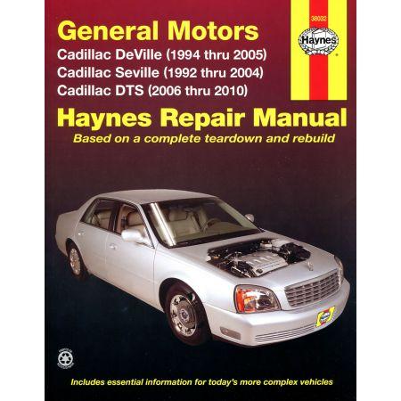 DeVille 94-05 Seville 92-04 and DTS 06-10 Revue technique Haynes CADILLAC Anglais