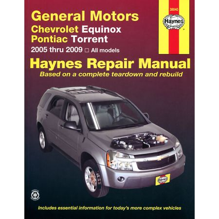 Equinox Torrent 05-12 Revue technique Haynes CHEVROLET PONTIAC Anglais