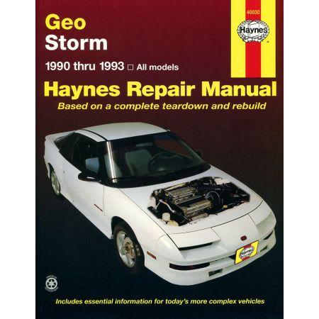 Storm 90-93 Revue technique Haynes GEO Anglais