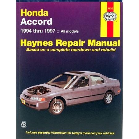 Accord 94-97 Revue technique Haynes HONDA Anglais