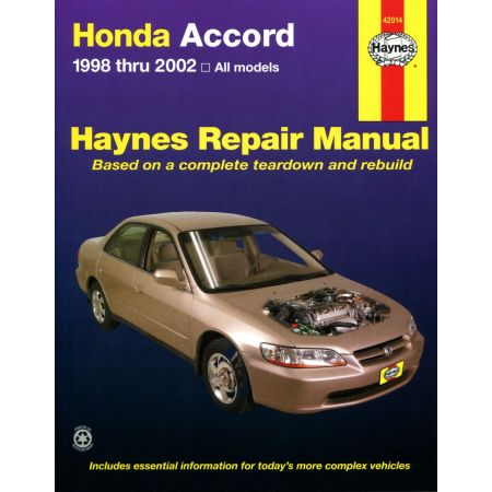 Accord 98-02 Revue technique Haynes HONDA Anglais