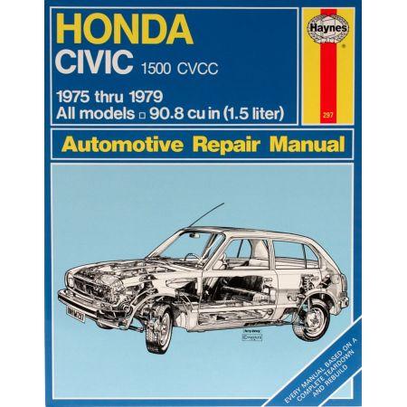 Civic 1500 CVCC 75-79 Revue technique Haynes HONDA Anglais