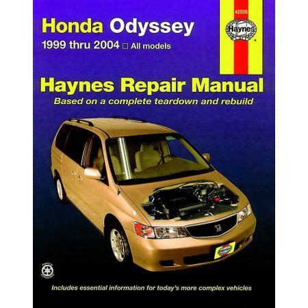 Odyssey 99-10 Revue technique Haynes HONDA Anglais