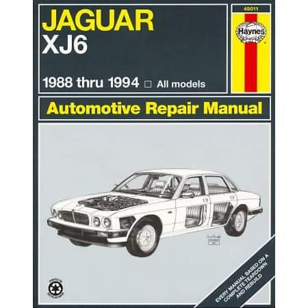 XJ6 Vanden Plas Sovereign 88-94 Revue technique Haynes JAGUAR Anglais