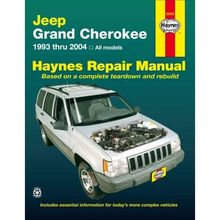 Grand Cherokee 93-04 Revue technique Haynes JEEP Anglais
