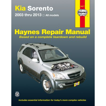 Sorento 03-13 Revue technique Haynes KIA Anglais
