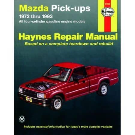 Pick-ups 72-93 Revue technique Haynes MAZDA Anglais
