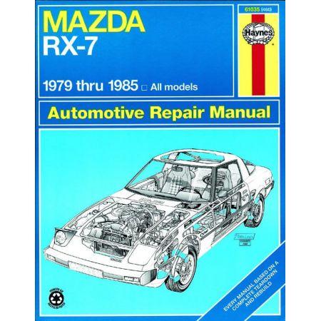 RX-7 GS GSL GSL-SE 79-85 Revue technique Haynes MAZDA Anglais