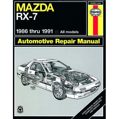 RX-7 86-91 Revue technique Haynes MAZDA Anglais