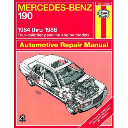 190 84-88 Revue technique Haynes MERCEDES-BENZ Anglais
