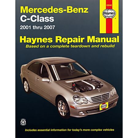 C-Class 01-07 Revue technique Haynes MERCEDES-BENZ Anglais