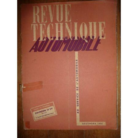 13CV S4E ET2 GT2 Revue Technique Salmson