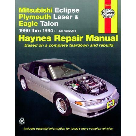 Eclipse Laser 90-94 Revue technique Haynes MITSUBISHI Anglais