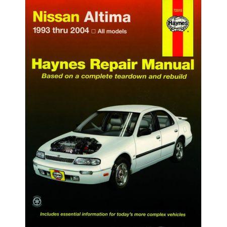 Altima 93-06 Revue technique Haynes NISSAN Anglais