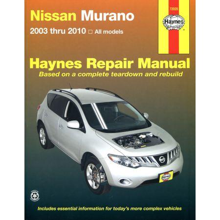 Murano 03-10 Revue technique Haynes NISSAN Anglais