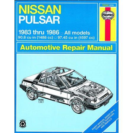 Pulsar 83-86 Revue technique Haynes NISSAN Anglais