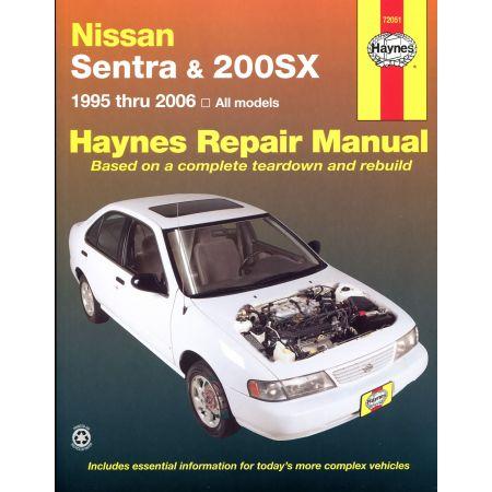 Sentra 200SX 95-06 Revue technique Haynes NISSAN Anglais