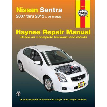 Sentra 07-12 Revue technique Haynes NISSAN Anglais