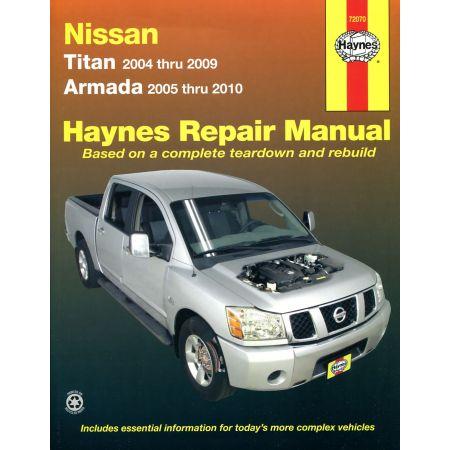 Titan 04-14 Armada 05-14 Revue technique Haynes NISSAN Anglais
