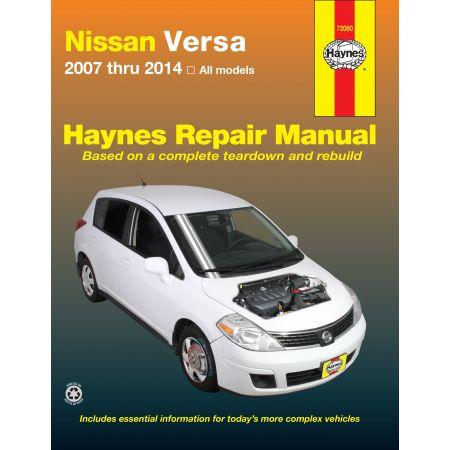 Versa 07-14 Revue technique Haynes NISSAN Anglais