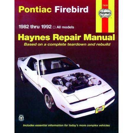 Firebird 82-92 Revue technique Haynes PONTIAC Anglais