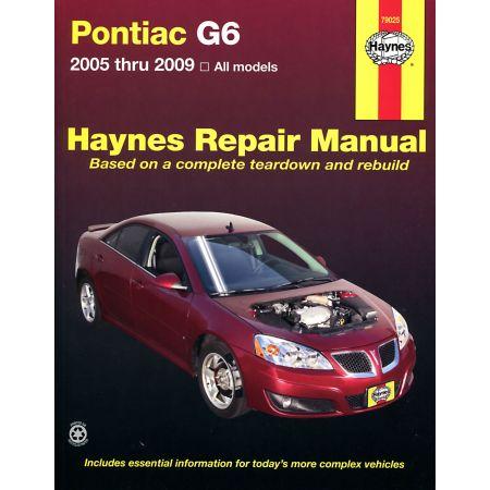 G6 05-09 Revue technique Haynes PONTIAC Anglais