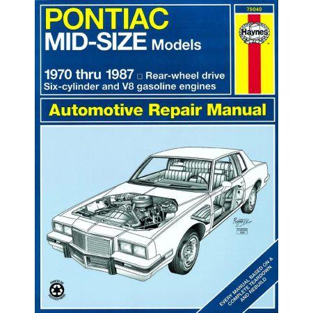 Mid-size 70-87 Revue technique Haynes PONTIAC Anglais