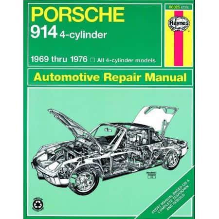 914 69-76 Revue technique Haynes PORSCHE Anglais