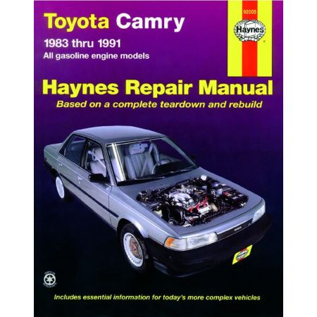 Camry 83-91 Revue technique Haynes TOYOTA Anglais