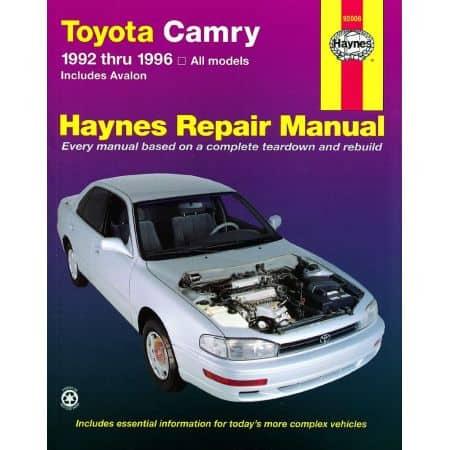 Camry 92-96 Avalon 95-96 Revue technique Haynes TOYOTA Anglais