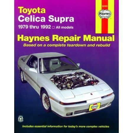 Celica Supra 79-92 Revue technique Haynes TOYOTA Anglais