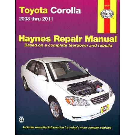 Corolla 03-11 Revue technique Haynes TOYOTA Anglais