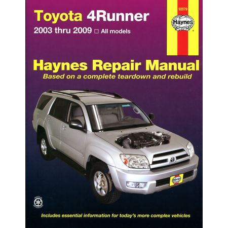 4Runner 03-09 Revue technique Haynes TOYOTA Anglais