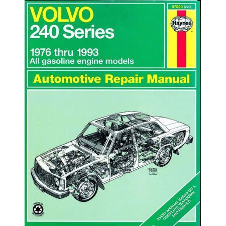 240 Series 76-93 Revue technique Haynes VOLVO Anglais