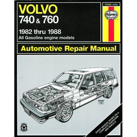 740 760 82-88 Revue technique Haynes VOLVO Anglais