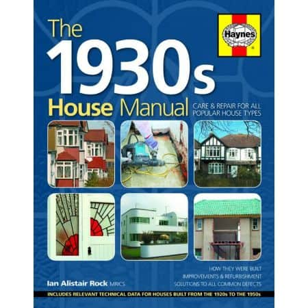 1930S HOUSE MANUAL Revue technique Haynes Anglais