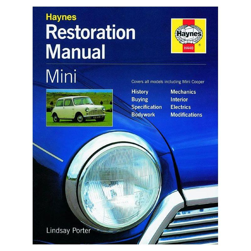 Mini Restoration 59-00 Manual Revue Technique Haynes