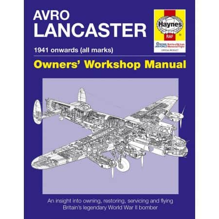 AVRO Lancaster Manual Revue technique Haynes Anglais