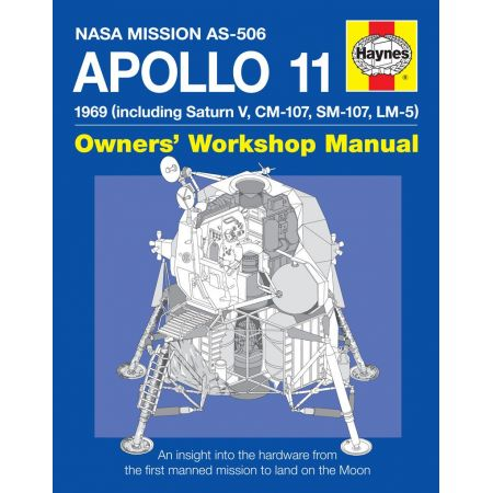 APOLLO 11 MANUAL Revue technique Haynes Anglais