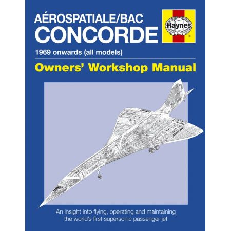Concorde Manual Revue technique Haynes Anglais