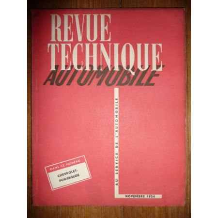 PowerGlide Revue Technique Chevrolet