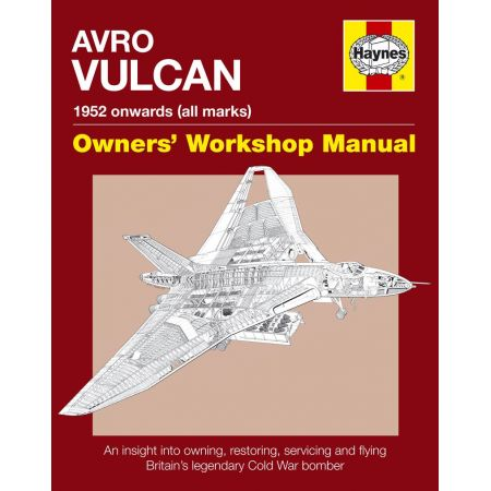 Avro Vulcan Manual Revue technique Haynes Anglais