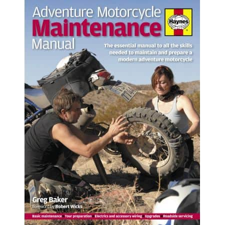 Adventure Motorcycle Maintenance Manual Revue technique Haynes Anglais