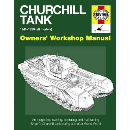 CHURCHILL TANK MANUAL Revue technique Haynes Anglais
