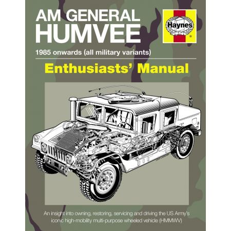 AM General Humvee Manual Revue technique Haynes Anglais