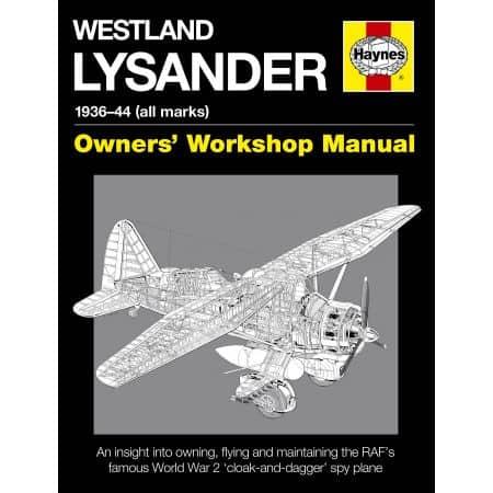 Westland Lysander Manual...
