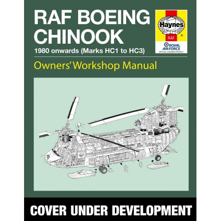 RAF Chinook Manual Revue technique Haynes Anglais