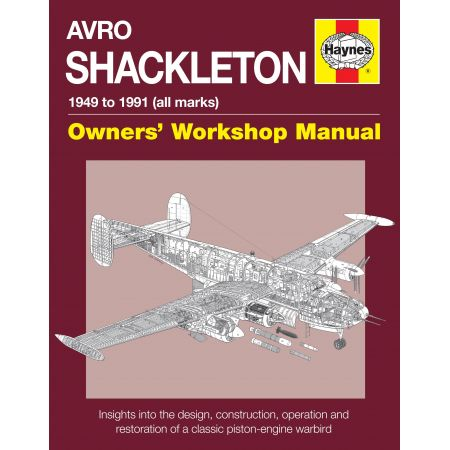 Avro Shackleton Manual Revue technique Haynes Anglais